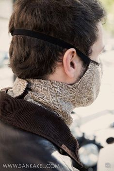 Masque tweed windowpane - Masque tweed windowpane Source by katerlueschen - Mouth Mask Fashion, Fashion Face Mask, Tweed, Diy Mask, Diy Face Mask, Face Masks, Sun Protective Clothing, Mask Design, Sewing Techniques