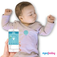 You don't have to worry about your baby's sleep anymore. MonBaby alerts you of breathing movements and body position!