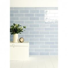 The Artisan Collection - contemporary - Tile - Other Metro - The Winchester Tile Company Brick In The Wall, Brick Wall, Contemporary Kitchen Tiles, Contemporary Decor, Blue Kitchen Tiles, New Kitchen, Blue Tiles, Kitchen Counters, Metro Tiles Bathroom