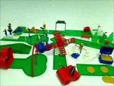 Golf-In-Miniature 18 Hole 3D Printed Miniature Golf Course