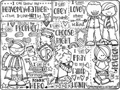 45 Best LDS Primary: Coloring Pages images in 2019 ...