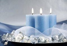 candle centerpieces | candle centerpiece adds holiday cheer and elegance.