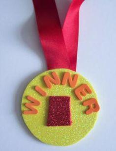Foam Medal