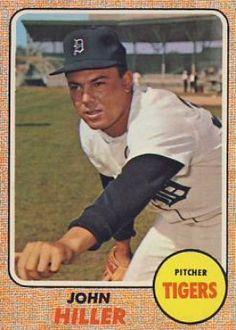 1968 Topps John Hiller #307 Baseball Card