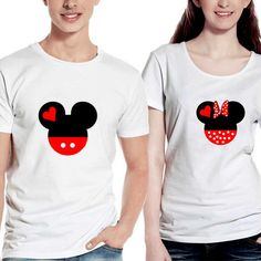 Mickey and Minnie Disney Matching Couple Man and Woman by Fanindo, $30.00  https://www.etsy.com/listing/196802287/mickey-and-minnie-disney-matching-couple?ref=sr_gallery_6&ga_order=date_desc&ga_view_type=gallery&ga_ref=fp_recent_more&ga_page=8&ga_search_type=all