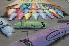 Image result for chalk art festival