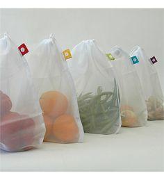 Flip %26 Tumble Reusable Produce Bags, Set of 5