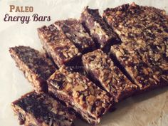Paleo Energy Bars - Powered by @ultimaterecipe