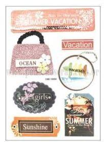 Adesivos Decorativos - Verão 01