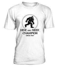 b0de1283a95d Hide and Seek Champion Since 1967 Shirt. 25th Birthday GiftsFunny ...