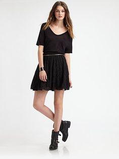 Fashion Star - Zip Mini Skirt by Orly Shani - Saks.com