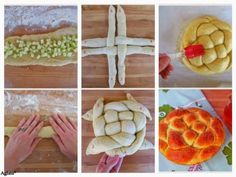 40 + 1 ιδέες για καταπληκτικά σχέδια με ζύμες! - Daddy-Cool.gr Viking Party, Pastry Art, Desert Recipes, Waffles, Yummy Food, Yummy Recipes, Food And Drink, Fruit, Cooking