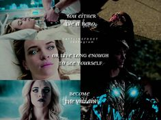 Hero or Villain? #savitar #TheFash #KillerFrost #BarryAllen #caitlinsnow