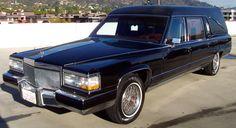 1990 Cadillac Brougham S&S Victoria Hearse