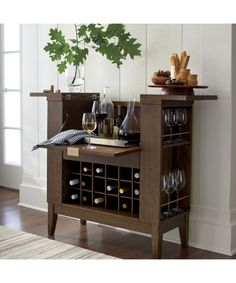 Parker Spirits Cabinet in Top Furniture | Crate and Barrel | Home ...