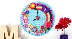 reloj tejido a crochet - Google Search