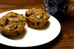 Fruit Oatmeal Muffins