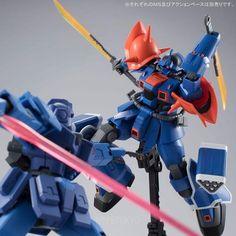 Mobile Suit Gundam Side Story -The Blue Destiny- HGUC 1/144 Plastic Model : MS-08TX [EXAM] Efreet Custom