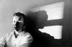 Larry Clark, Untitled (man and shadow), ca. from Tulsa Larry Clark Photography, Man Photography, Creative Photography, Amazing Photography, Vintage Photography, Larry Clark Tulsa, Great Photographers, Black And White Portraits, Documentary Photography