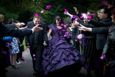 Louise & Adam's gothic fairytale wedding