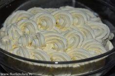 Creme pentru torturi si prajituri – Flori's Kitchen Cream Cake, Ice Cream, Frosting, Icing, Mcdonalds, Mousse, Caramel, Menu, Yummy Food