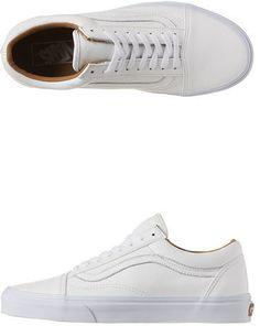d30d2e741a083c Vans Old Skool Premium Leather Shoes on shopstyle.com.au
