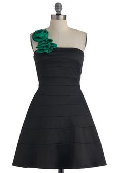 When You Can Dance Dress in Jade, #ModCloth