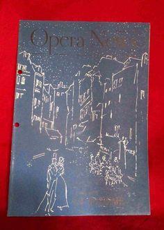 Opera News Feb 11,1952 CARMEN Henry Meilhac Georges Bizet