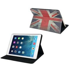 For+iPad+Air+Retro+UK+Flag+Pattern+Leather+Case+with+Holder+&+Sleep+/+Wake-up+Function