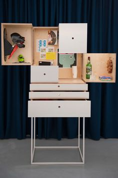 The Cabinet of modern Irish life by Studio AAD and John McLaughlin Architects – part of the Liminal Irish Design at the Threshold exhibition in Milan