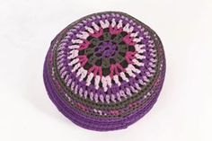 Moroccan Style Foot Stool | Love of Crochet  Spring 2012 | Love of Knitting