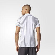 adidas - New York Striped Polo Shirt