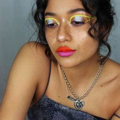 How This Woman Uses Makeup as Her Most Powerful Form of Self-Expression Dope Makeup, Glam Makeup Look, Makeup Geek, Makeup Looks, Fashion Shoot, Fashion Beauty, Karla Garcia, Suva Beauty, Aesthetic Look