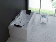 Whirlpool Badewanne A810 Whirlwanne Vollausstattung Heizung 28 ... Whirlpool Badewanne Thais Art