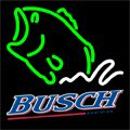 Busch Beer Bass Fish Neon Sign 16x16, Busch Neon Beer Signs & Lights | Neon Beer Signs & Lights. Makes a great gift. High impact, eye catching, real glass tube neon sign. In stock. Ships in 5 days or less. Brand New Indoor Neon Sign. Neon Tube thickness is 9MM. All Neon Signs have 1 year warranty and 0% breakage guarantee.