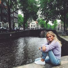 "14.7k Likes, 114 Comments - Claire Rose Cliteur (@claartjerose) on Instagram: ""hanging with my fav @levis_nl #501 jeans around 'de Jordaan'. My fav area for drinks and to relax…"""