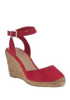 Clothing at Tesco | F&F Espadrille Wedge Sandals > shoes > New In > Women