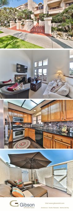 Open till 2pm (3/29) Santa Monica Penthouse in the Wilshire-Montana neighborhood. Mediterranean style home with Getty views. Contact agents Peter and Ty Bergman.