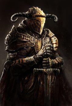 Knight by LoopyWanderer.deviantart.com on @deviantART