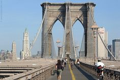 The Brooklyn Bridge  - I would go back any time.
