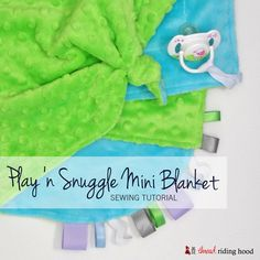 - Play 'n Snuggle Mini Cuddle Blanket Tutorial