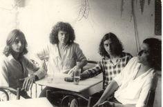 Banda 14 Bis no coquetel de comemoração do lançamento do primeiro disco do grupo pela EMI-ODEON. São Paulo, SP – 1979