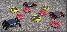 Bottle Top Bugs for initial and final consonant deletion Creative Activities, Craft Activities For Kids, Preschool Crafts, Crafts For Kids, Arts And Crafts, Craft Ideas, Church Activities, Preschool Ideas, Teaching Ideas