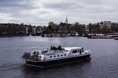 Amsterdam #1 | Boats and Bicycles | Moonlight Bohemian Amsterdam City, Bicycles, Moonlight, Boats, Travel Photography, Bohemian, Instagram, Ships, Boho