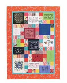 T-Shirt quilt from T Shirt Quilts Made Easy