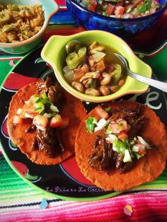 Chile Ancho Braised Beef-Pico de Gallo