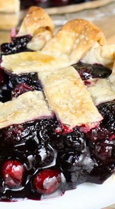... wild blueberry pie recipes remembered cranberry and wild blueberry pie