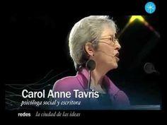 Carol Anne Tavris: La disonancia cognoscitiva (La Ciudad de las Ideas 20...