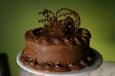 Torta crema de chocolate