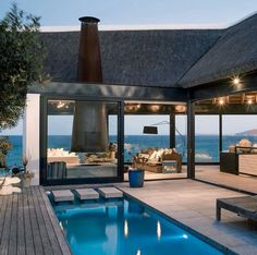 The perfect beach house.